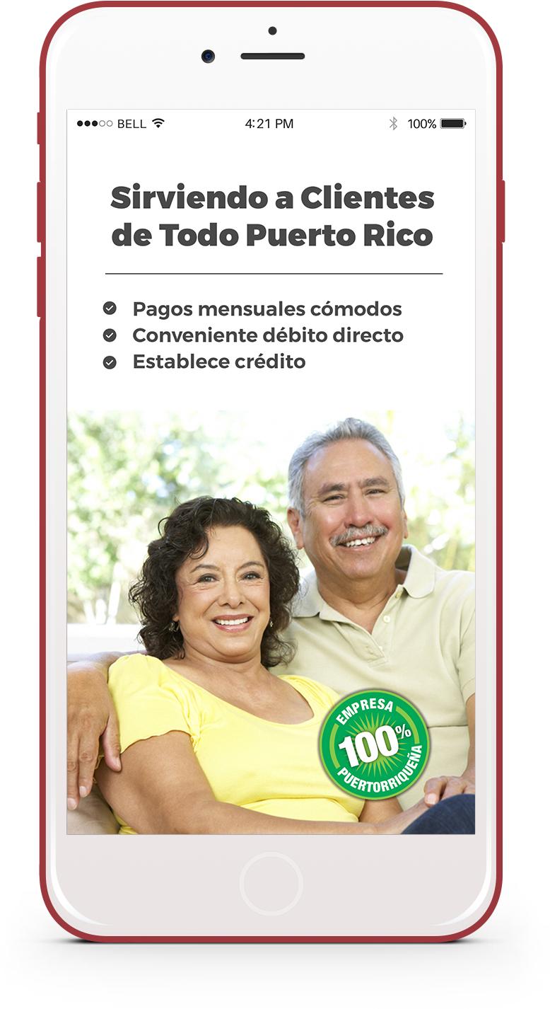 Sirviendo a Clientes de Todo Puerto Rico - iphone App